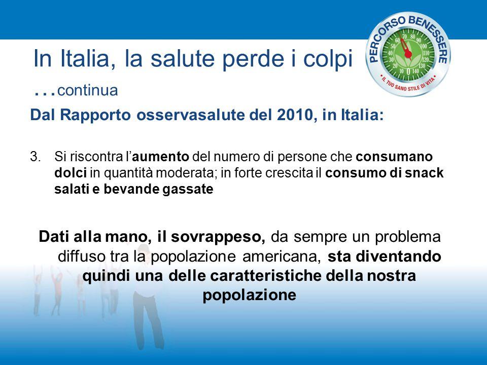 In Italia, la salute perde i colpi …continua