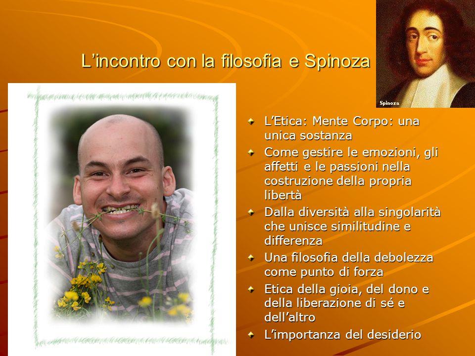 L'incontro con la filosofia e Spinoza