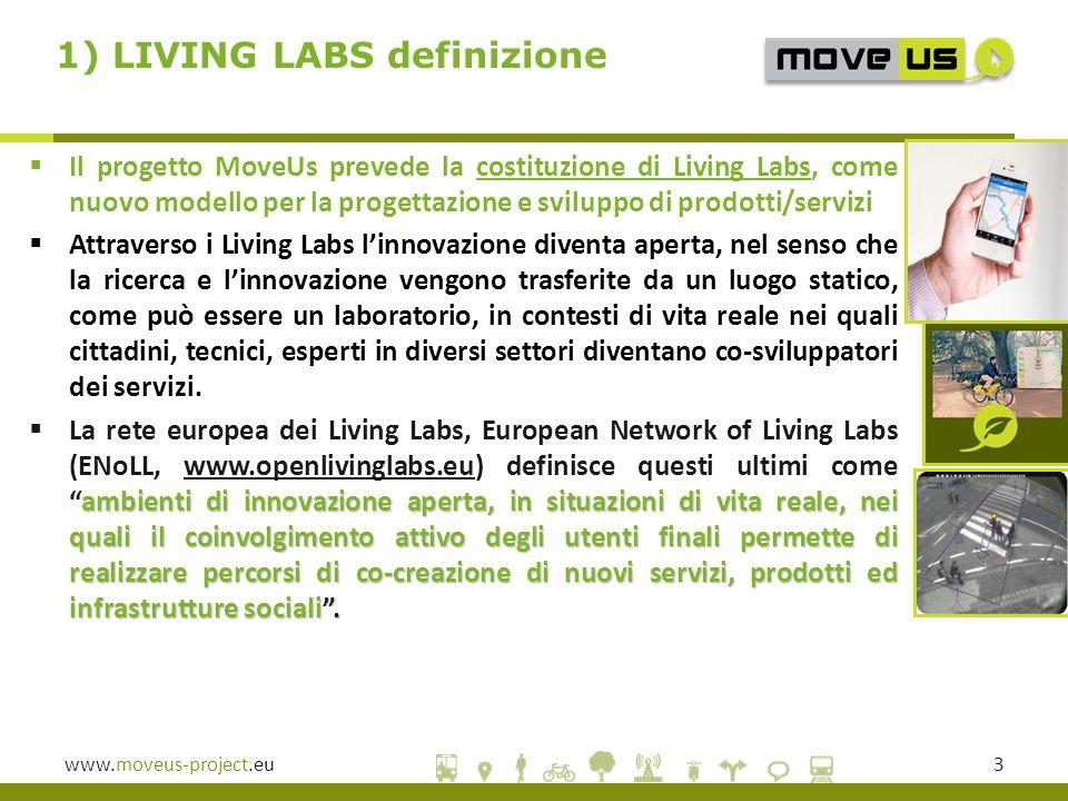 1) LIVING LABS definizione