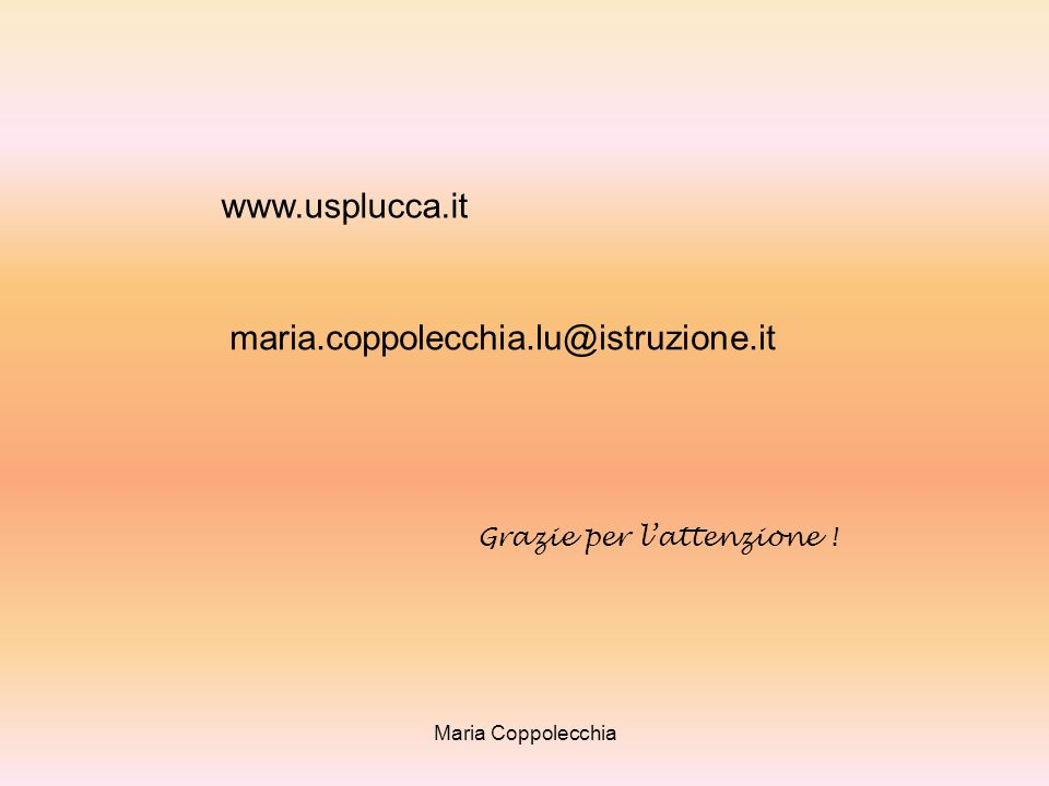 www.usplucca.it maria.coppolecchia.lu@istruzione.it
