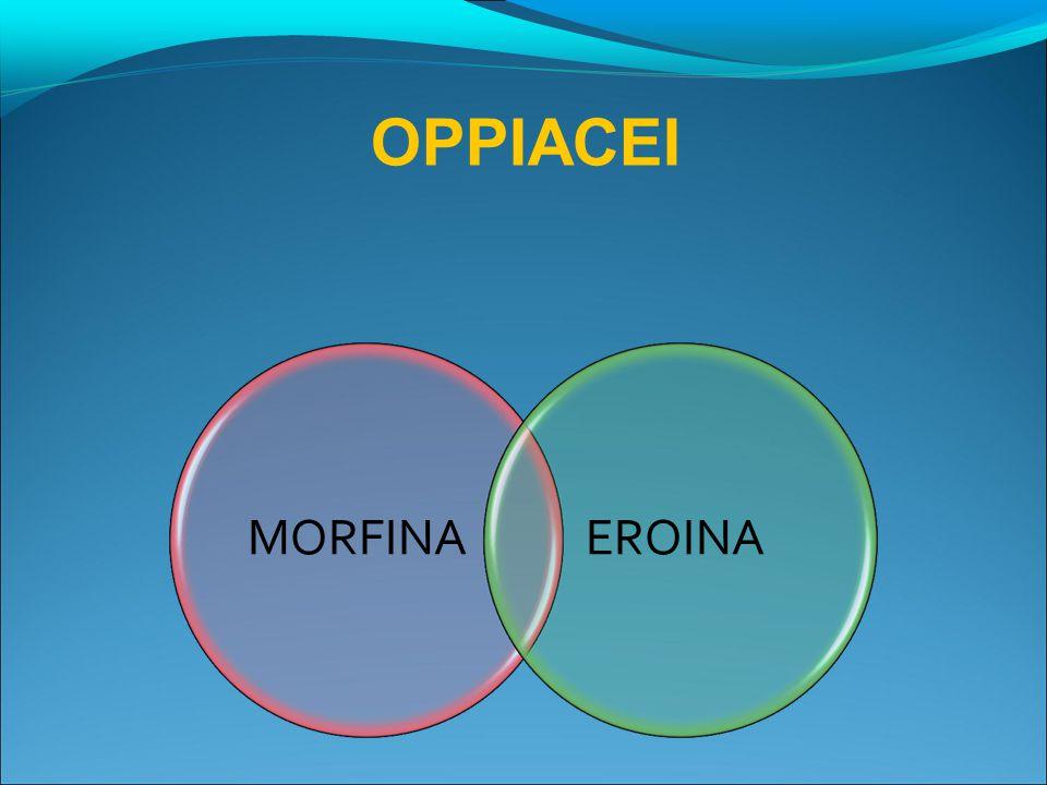 OPPIACEI MORFINA EROINA 27