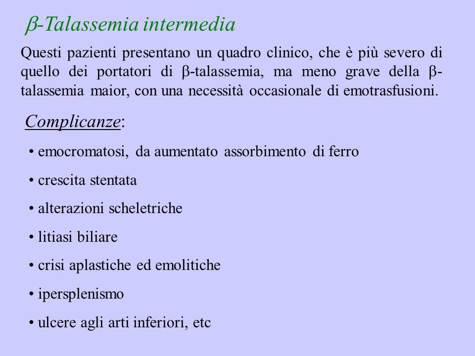 b-Talassemia intermedia