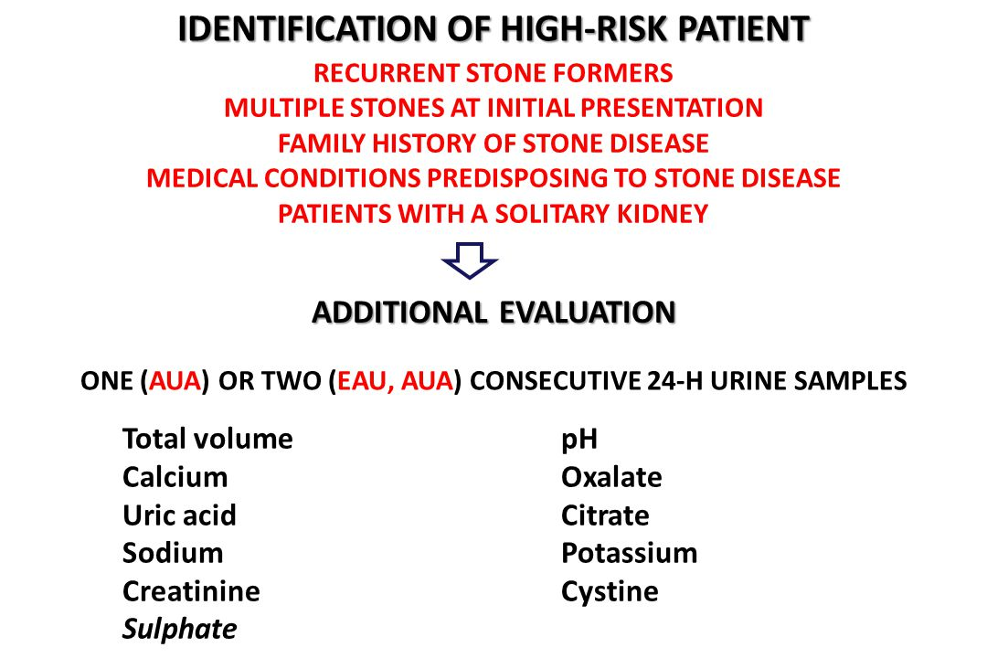 identification of high-risk patient