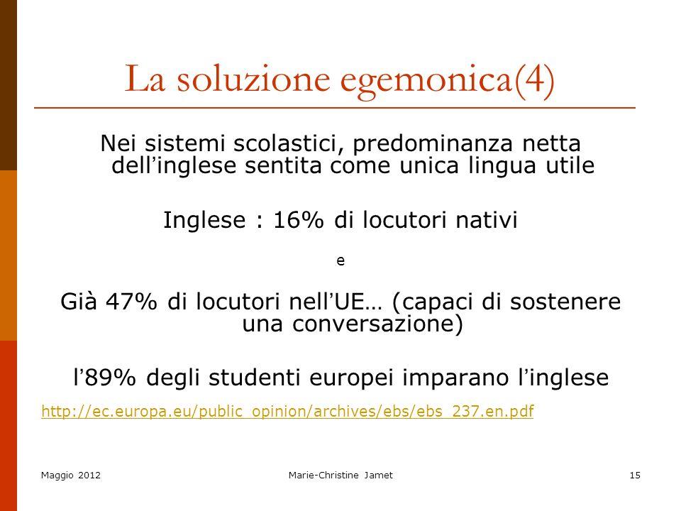 La soluzione egemonica(4)