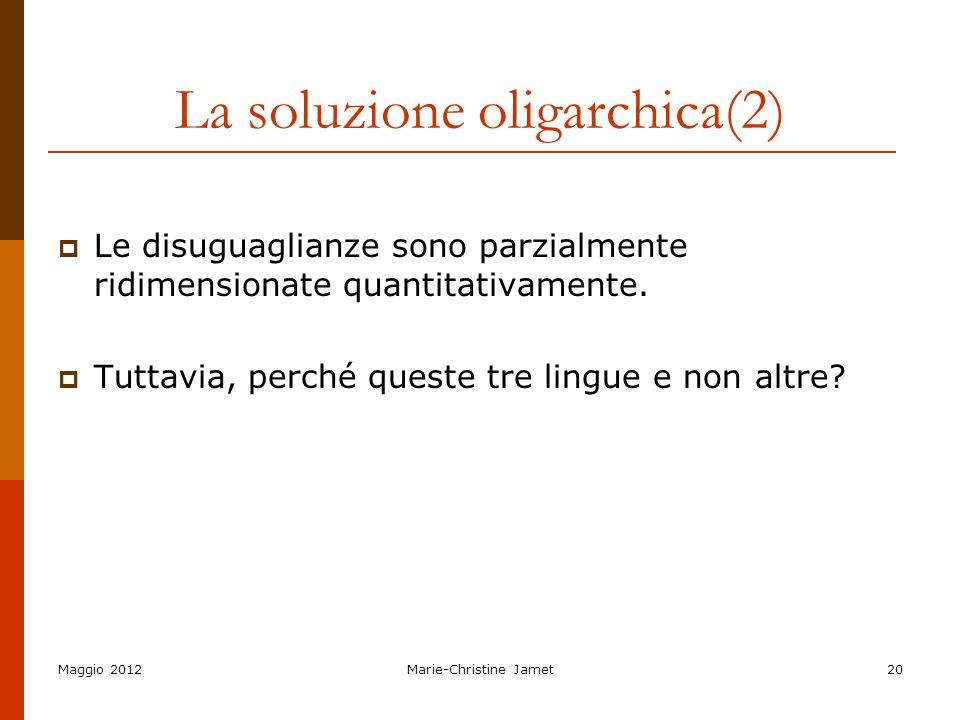 La soluzione oligarchica(2)