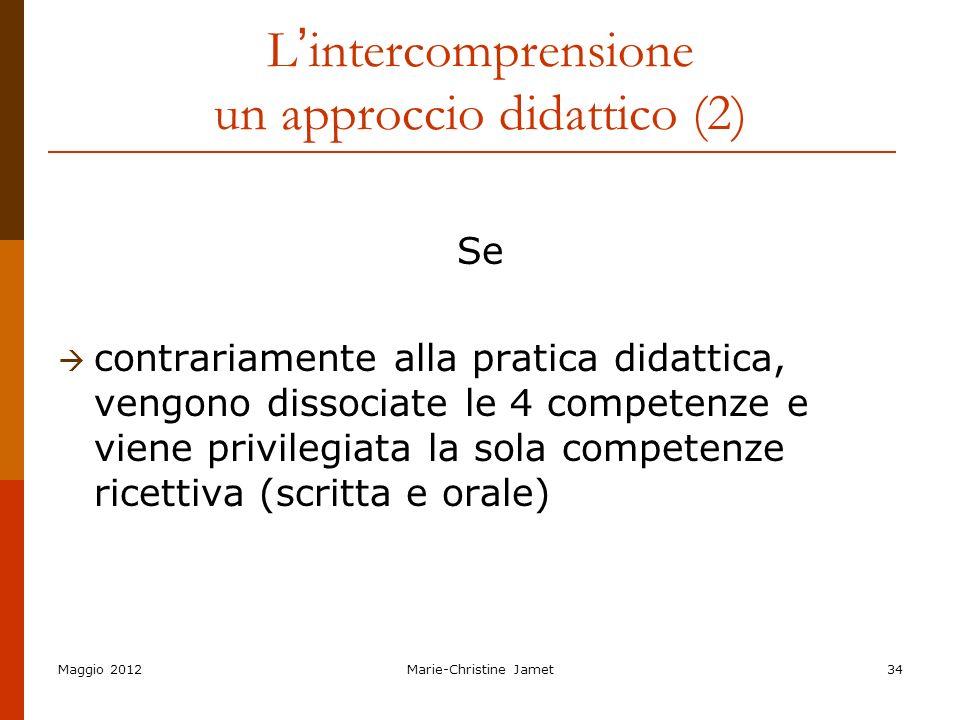L'intercomprensione un approccio didattico (2)