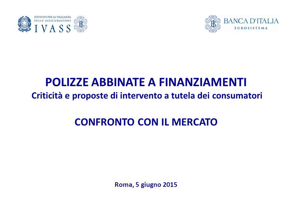 POLIZZE ABBINATE A FINANZIAMENTI