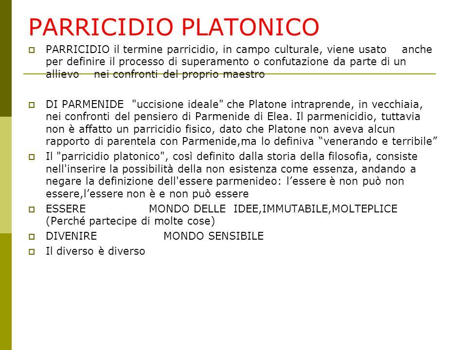 PARRICIDIO PLATONICO