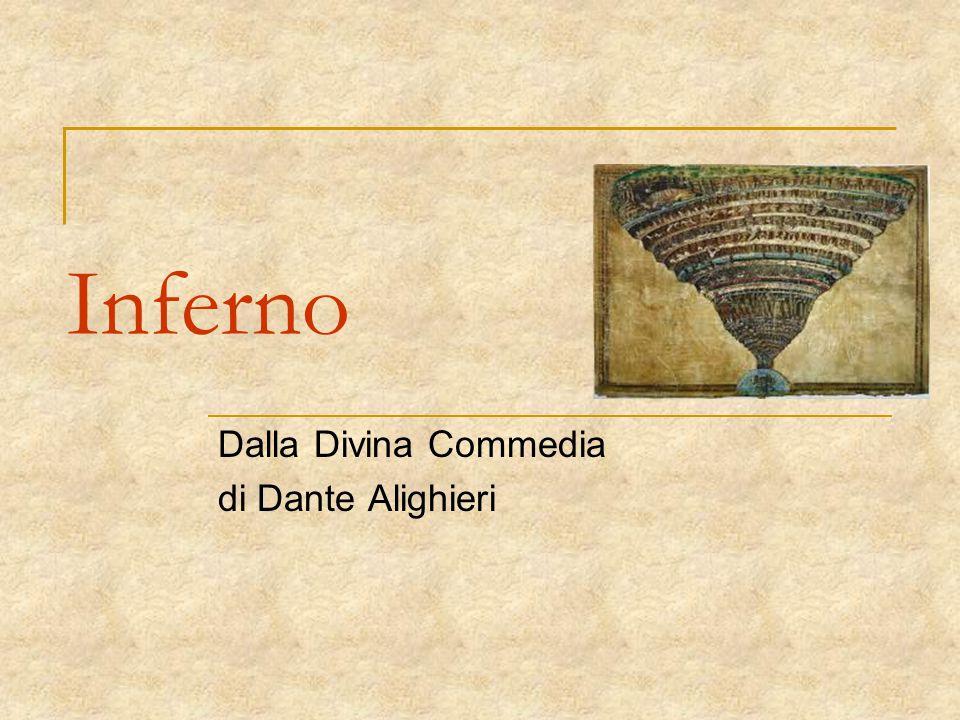 Dalla Divina Commedia di Dante Alighieri