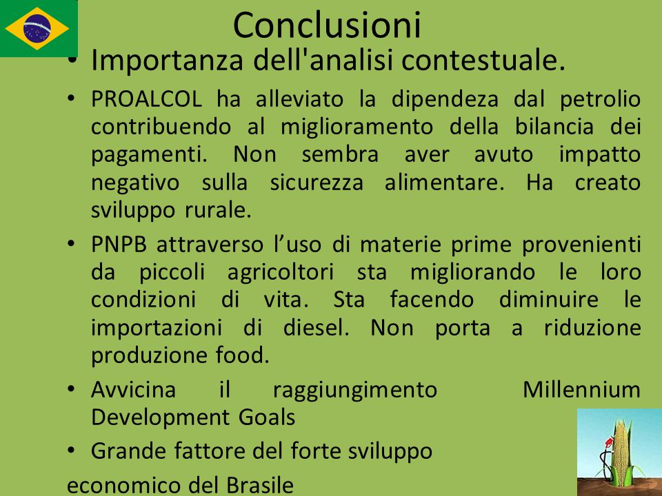 Conclusioni Importanza dell analisi contestuale.