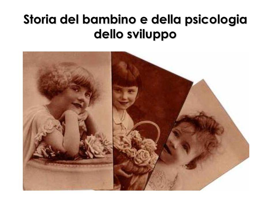 Storia del bambino e della psicologia dello sviluppo