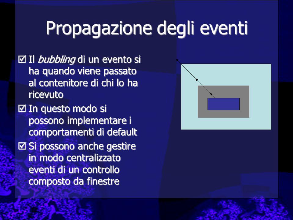 Propagazione degli eventi