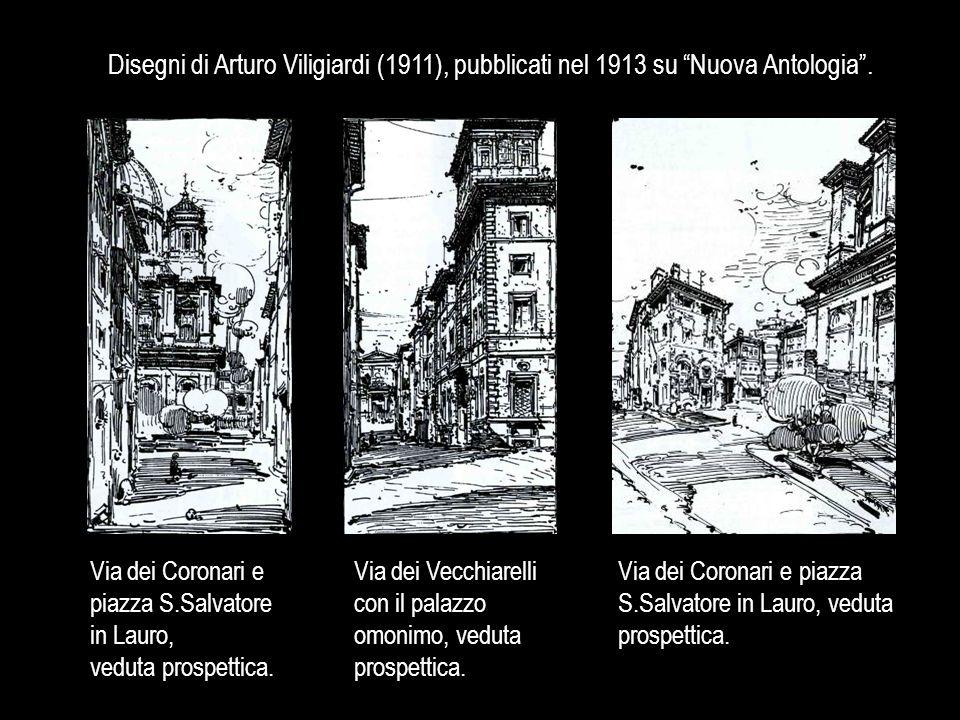 Disegni di Arturo Viligiardi (1911), pubblicati nel 1913 su Nuova Antologia .