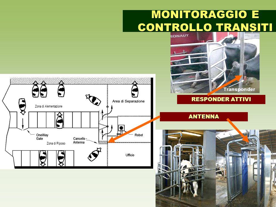 MONITORAGGIO E CONTROLLO TRANSITI