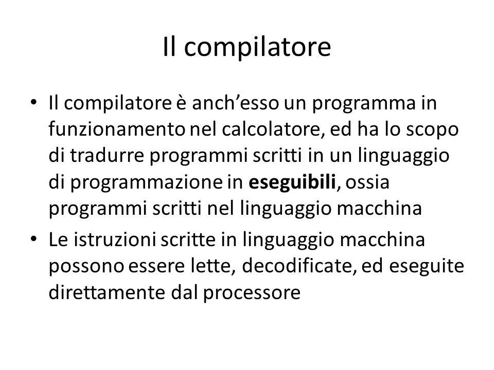 Il compilatore