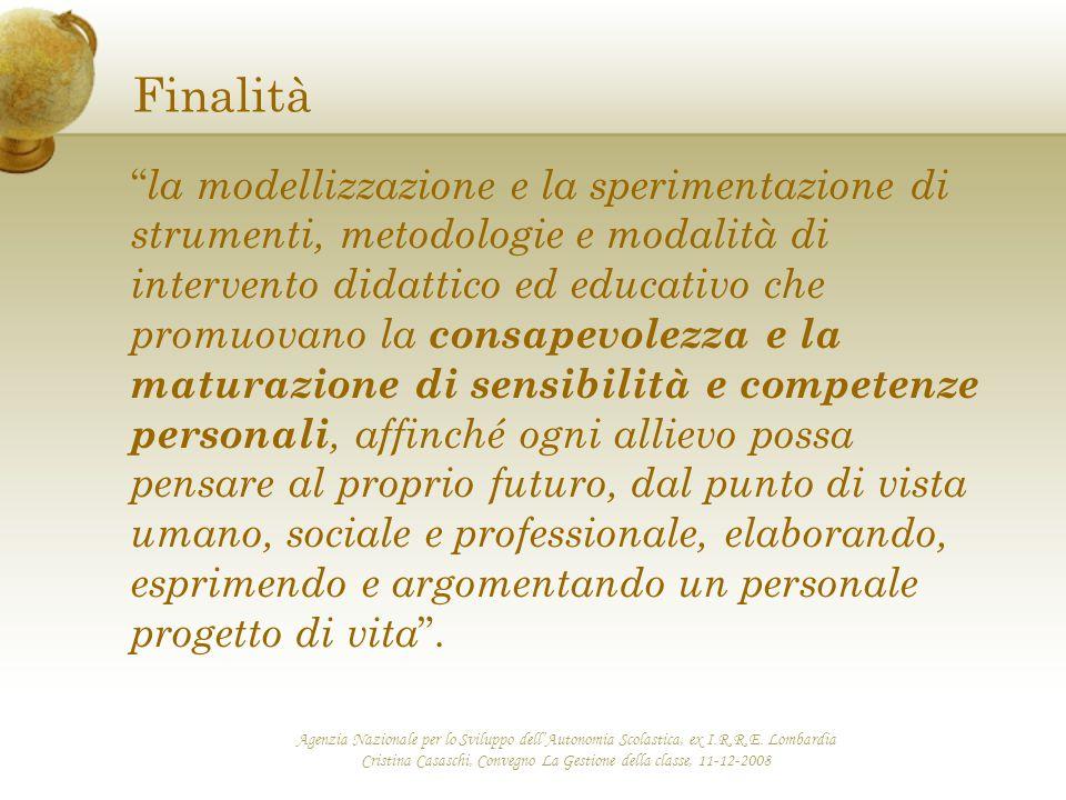 Cristina Casaschi, Convegno La Gestione della classe, 11-12-2008