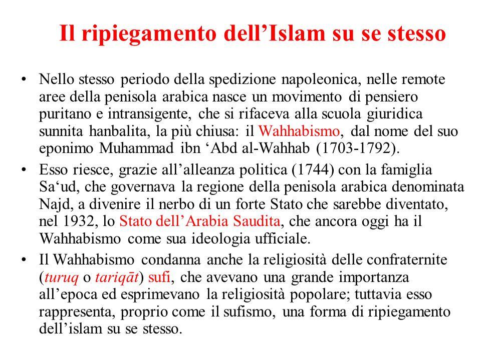 Il ripiegamento dell'Islam su se stesso