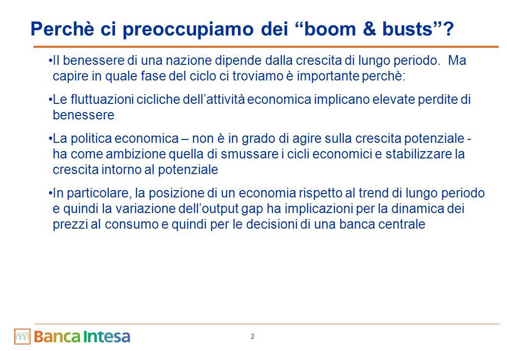 Perchè ci preoccupiamo dei boom & busts