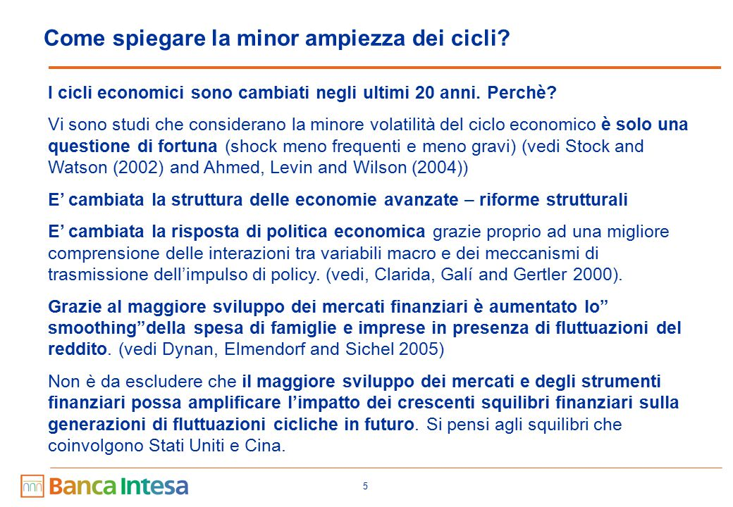 Come datare il business cycle : l'approccio dell'NBER