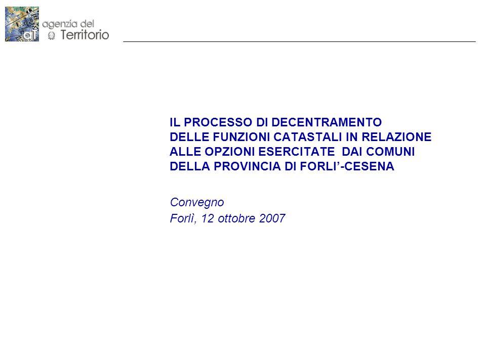 Convegno Forlì, 12 ottobre 2007