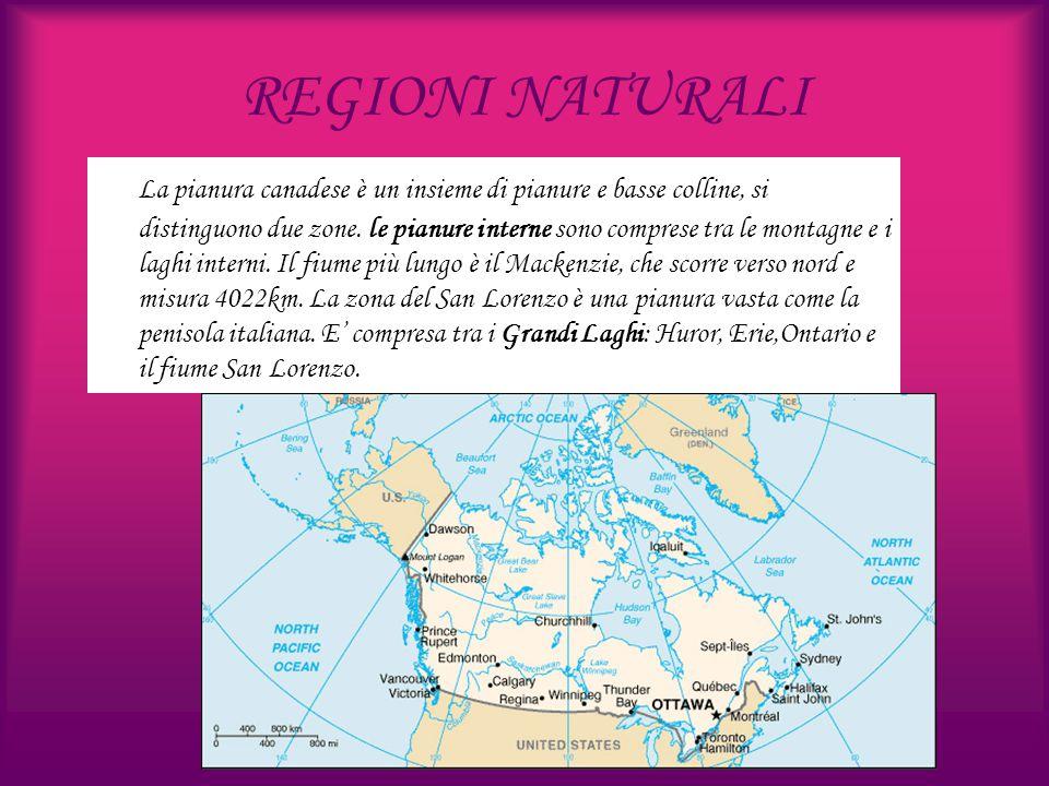 REGIONI NATURALI