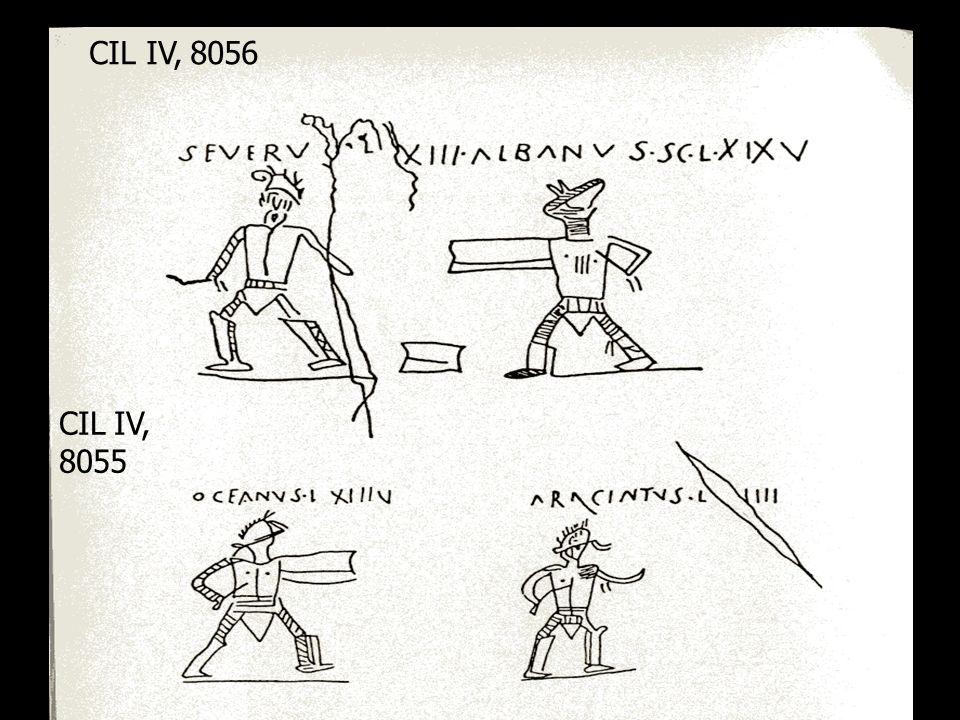 CIL IV, 8056 CIL IV, 8055