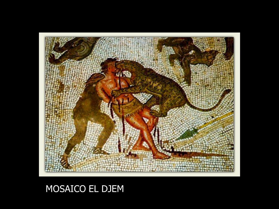 MOSAICO EL DJEM