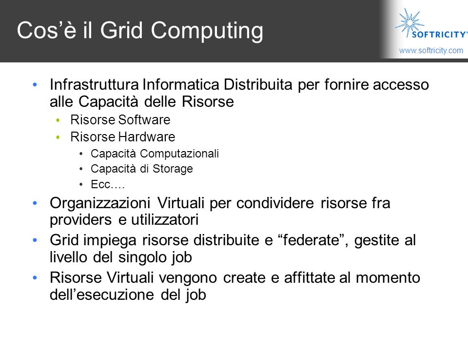 Cos'è il Grid Computing