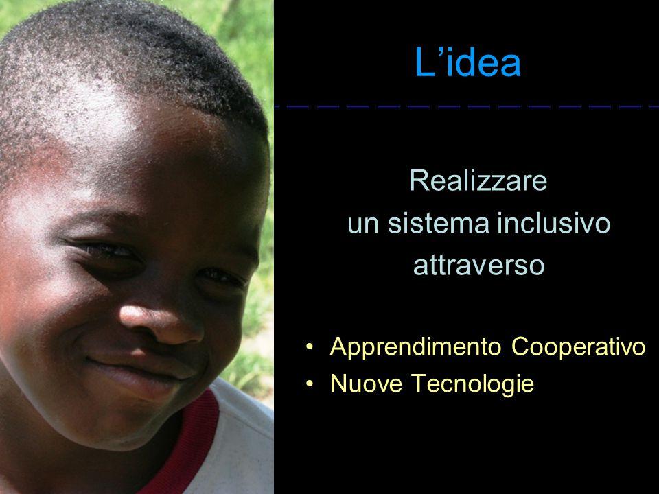 L'idea Realizzare un sistema inclusivo attraverso