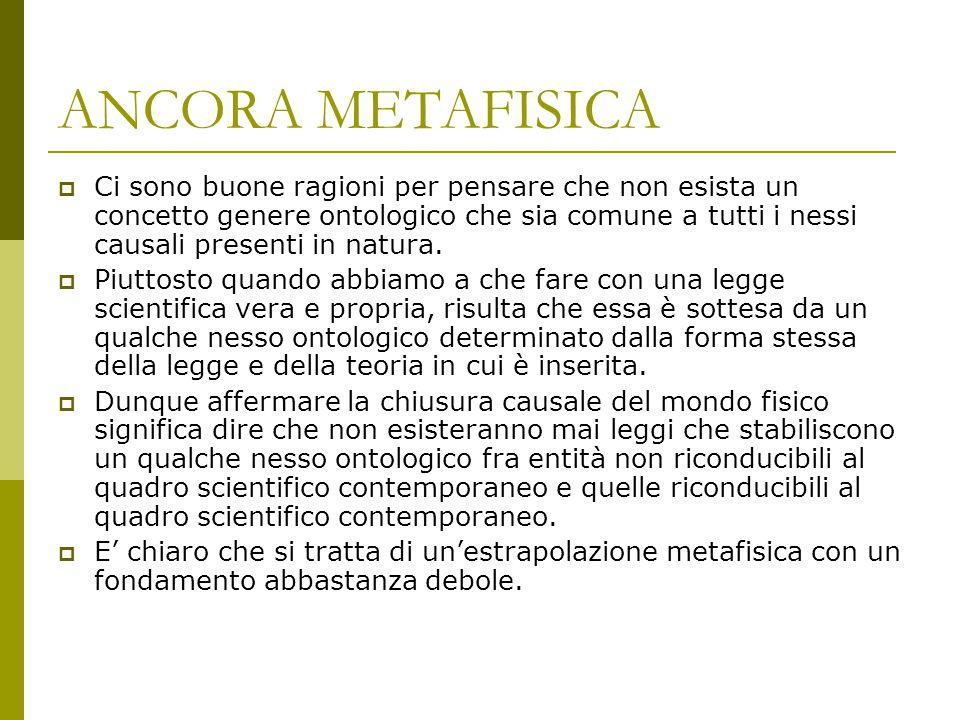 ANCORA METAFISICA