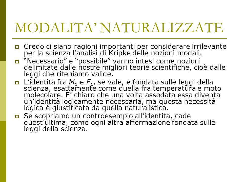 MODALITA' NATURALIZZATE