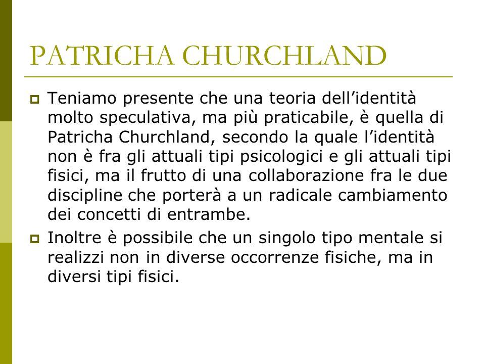 PATRICHA CHURCHLAND
