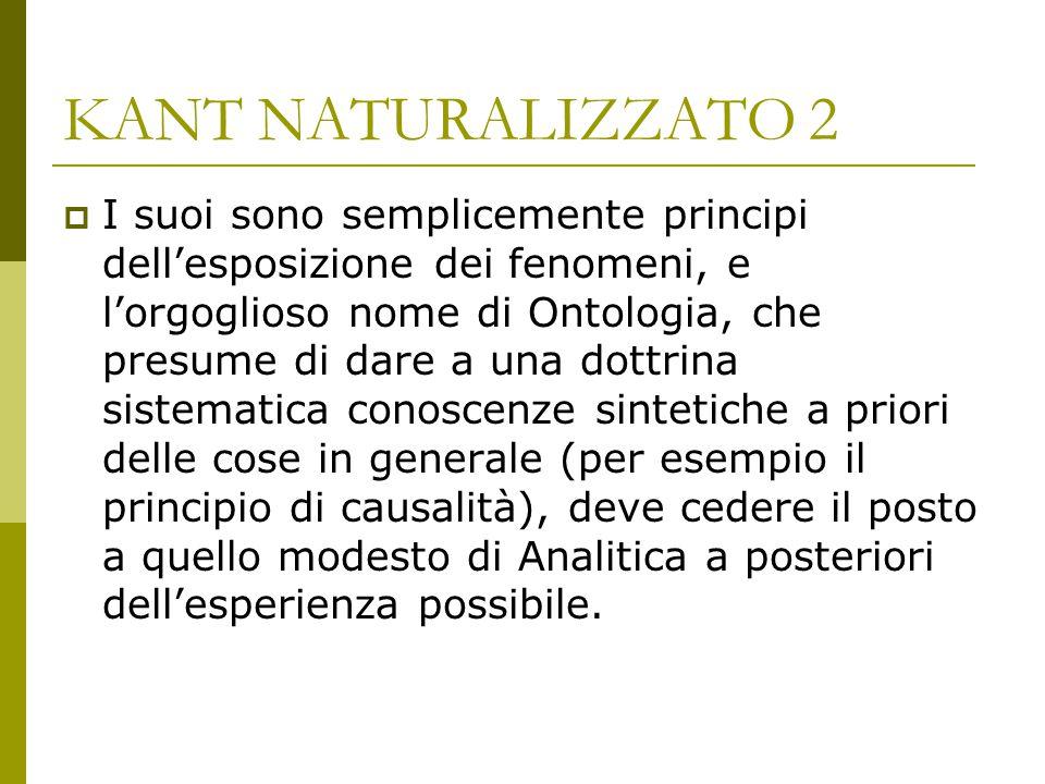 KANT NATURALIZZATO 2