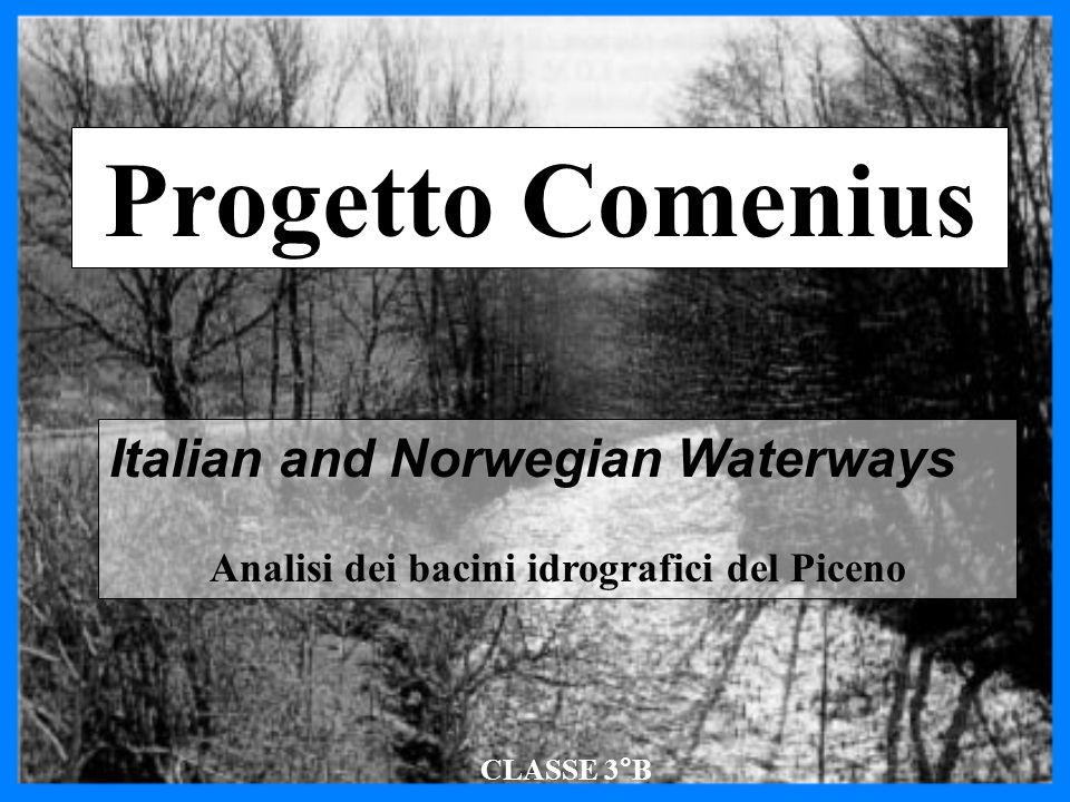 Analisi dei bacini idrografici del Piceno