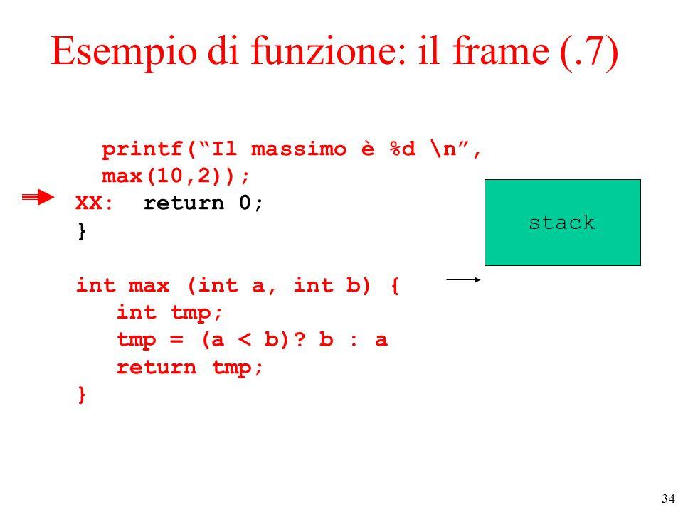 Esempio di funzione: il frame (.7)