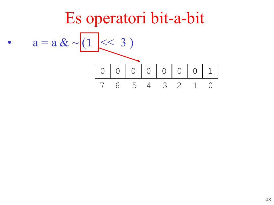 Es operatori bit-a-bit