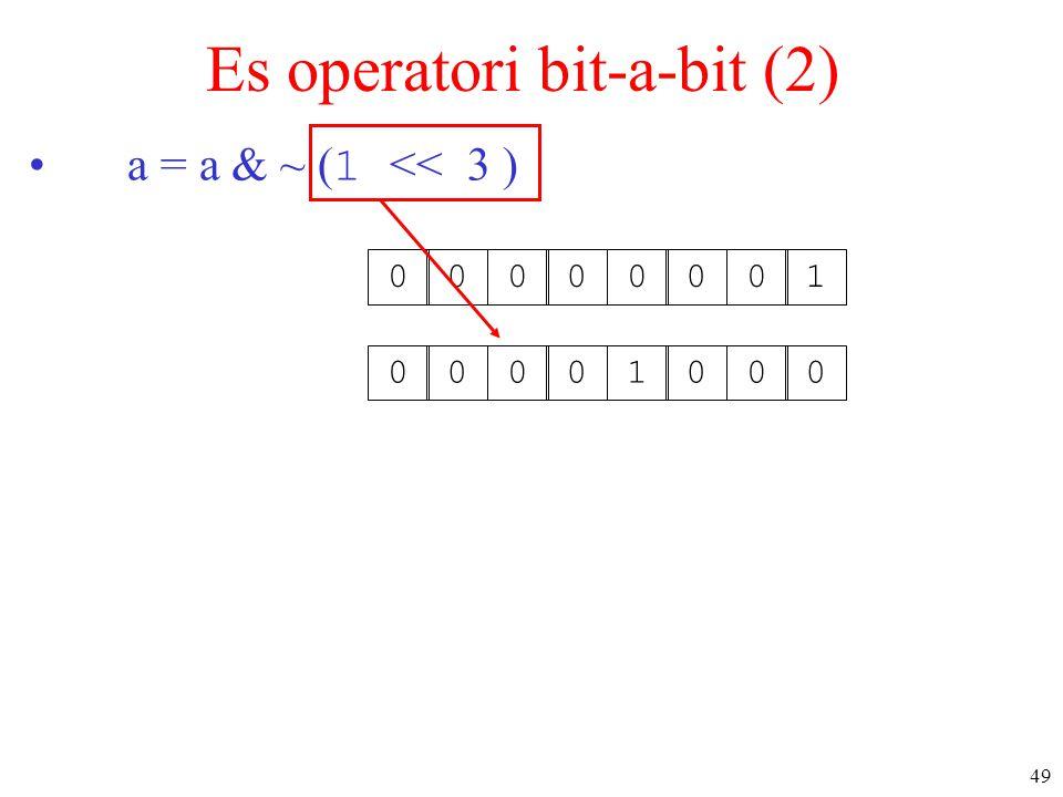 Es operatori bit-a-bit (2)