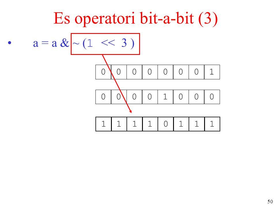 Es operatori bit-a-bit (3)
