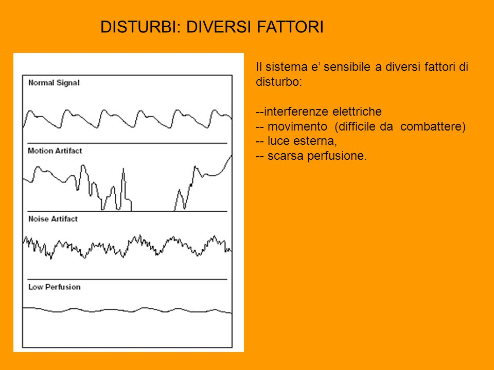 DISTURBI: DIVERSI FATTORI