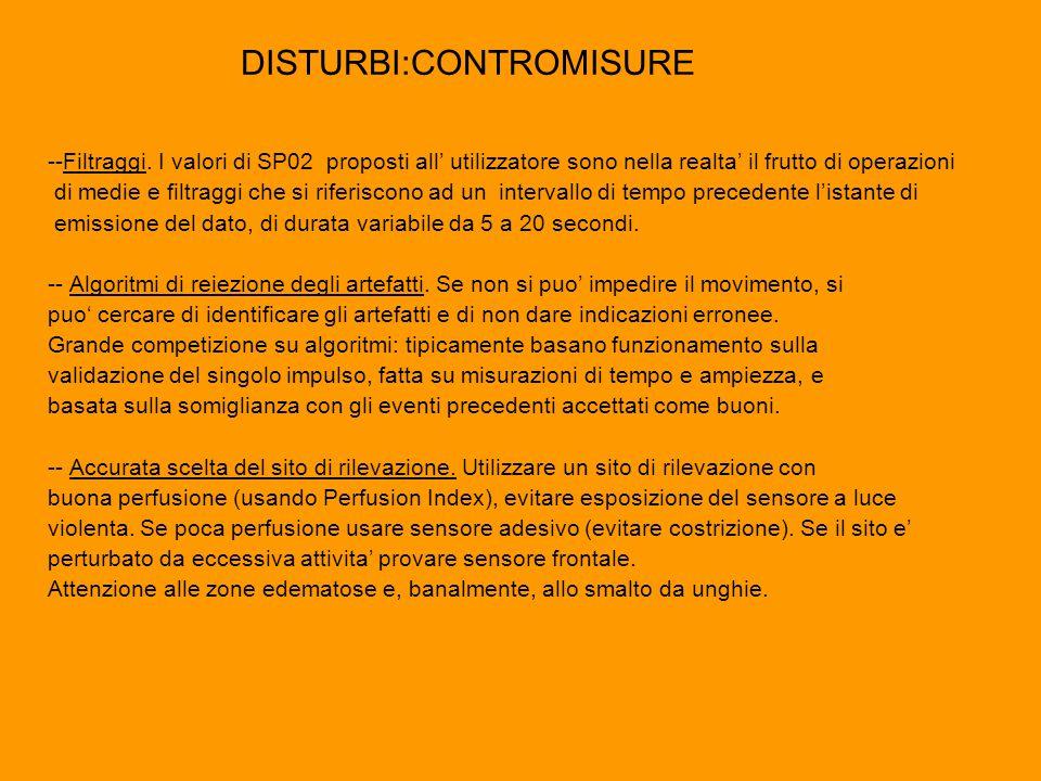 DISTURBI:CONTROMISURE
