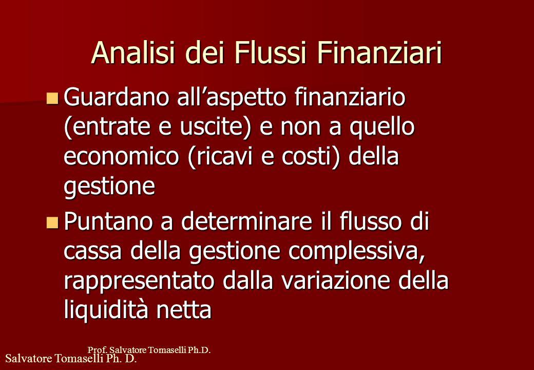 Analisi dei Flussi Finanziari