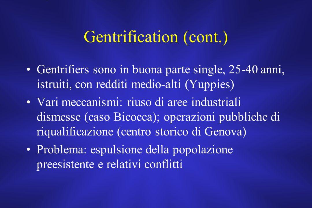 Gentrification (cont.)