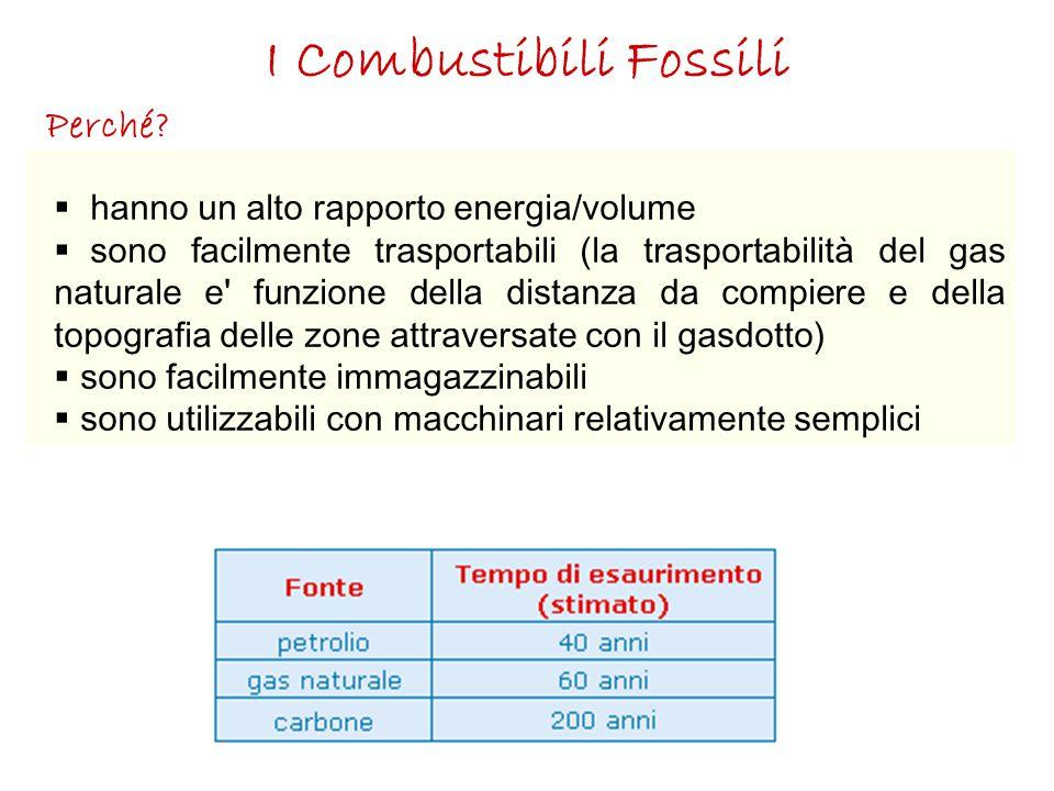 I Combustibili Fossili