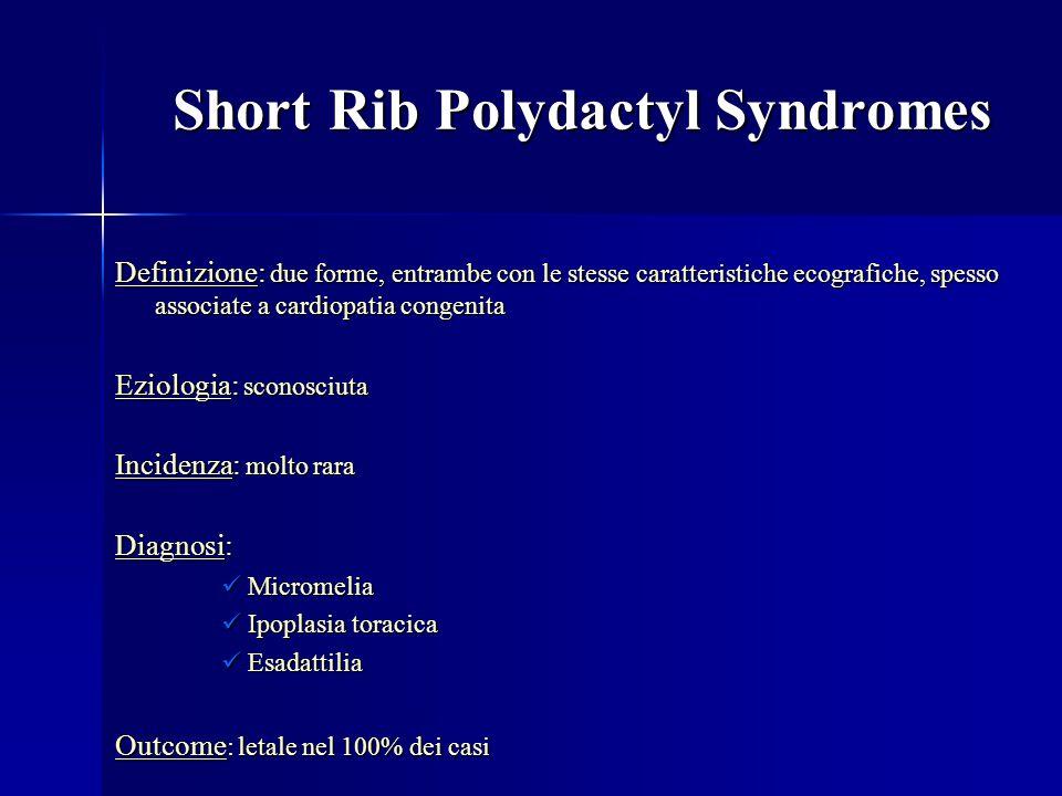 Short Rib Polydactyl Syndromes