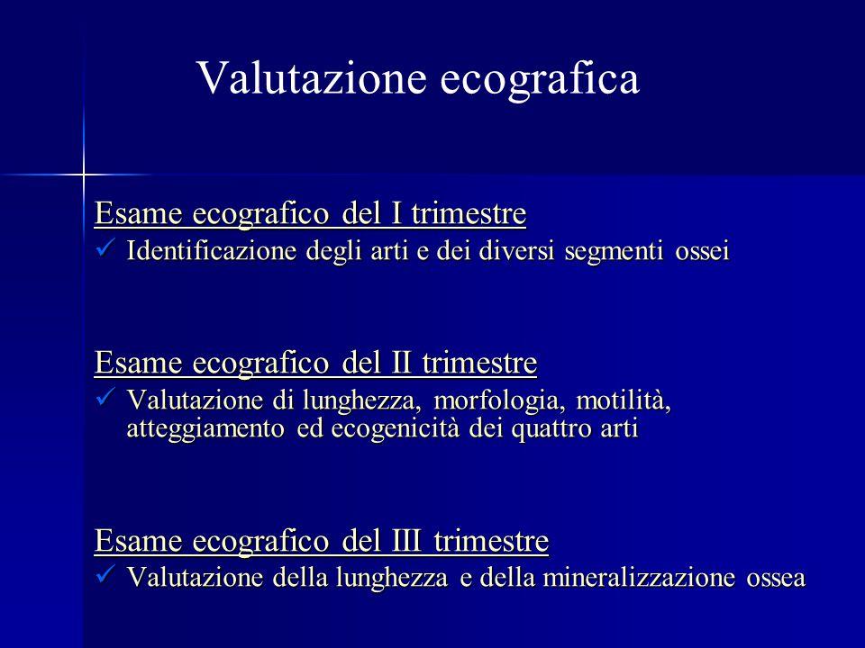 Valutazione ecografica