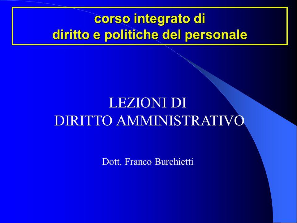 corso integrato di diritto e politiche del personale