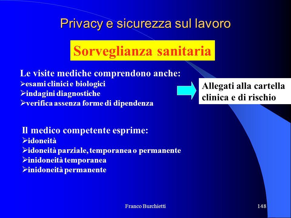 Privacy e sicurezza sul lavoro
