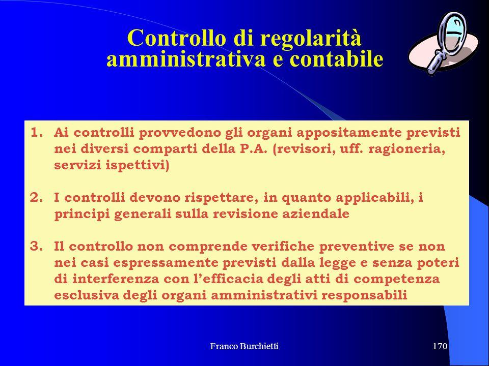 Controllo di regolarità amministrativa e contabile