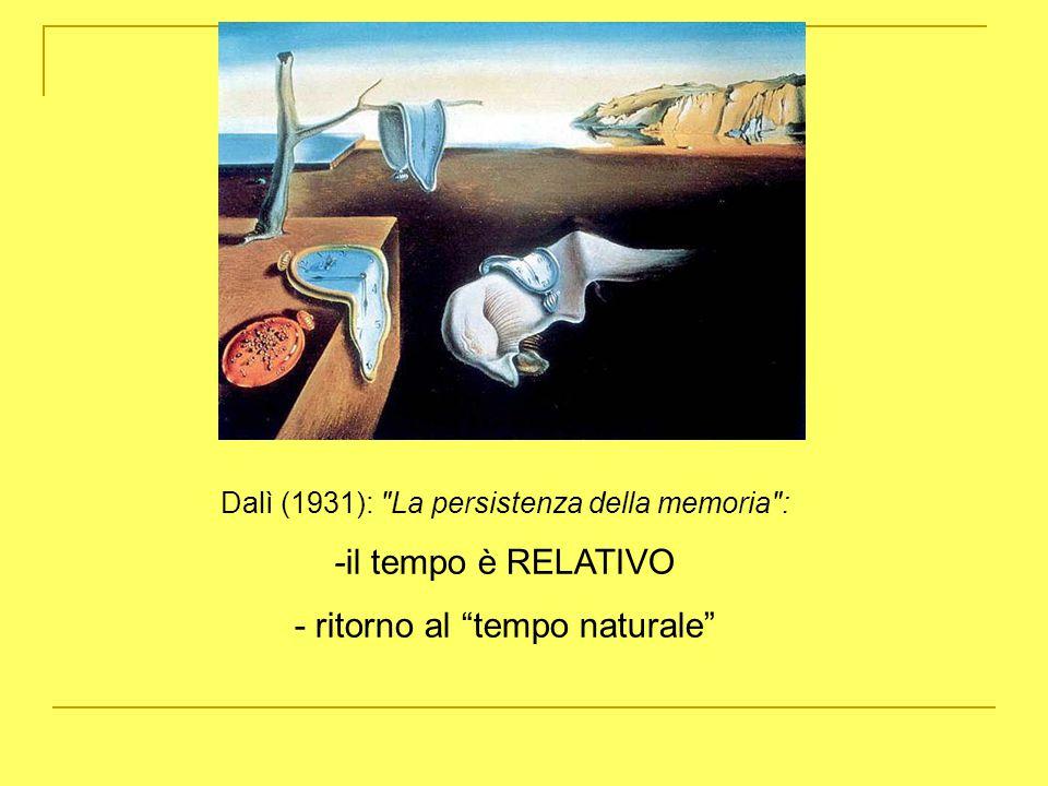- ritorno al tempo naturale
