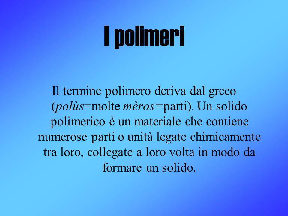 I polimeri